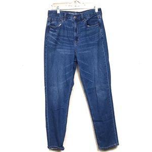American Eagle mom Jeans medium wash 6